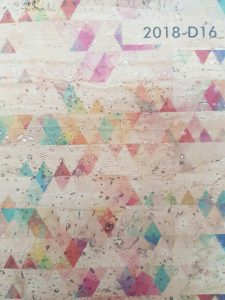 Cortiça Geométrico 2018-D16
