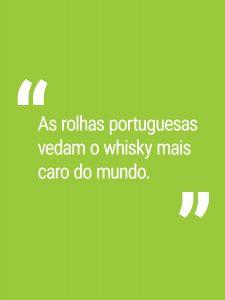 As rolhas portuguesas vedam o whisky mais caro do mundo.